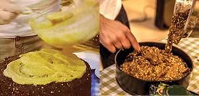 Ciasto brownie gryczano karobowe